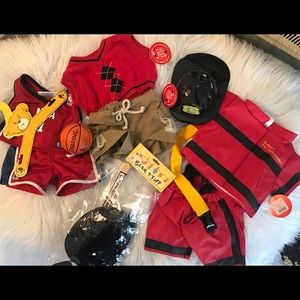 Build a Bear Clothing Accessories Bundle Lot New